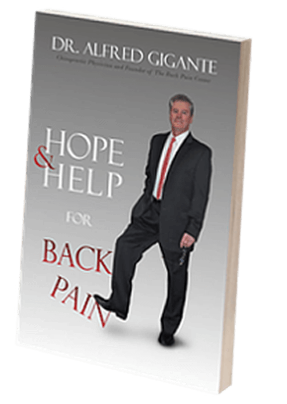 Hope and Help For Back Pain Book by Dr. Alfred Gigante