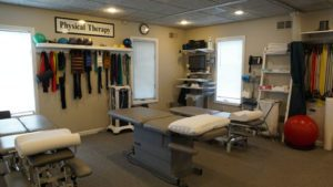 Physical Therapy Room atJoint Spine Rehabilitation